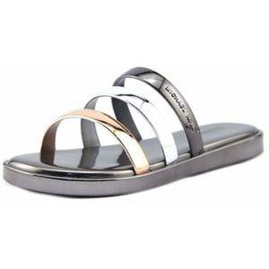 Women's Michael Kors Keiko Slide Sandals Size 7